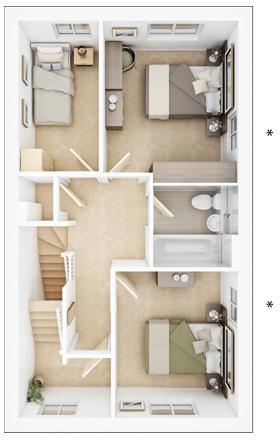 Maitland first floor plan