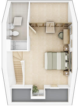 Maitland second floor plan