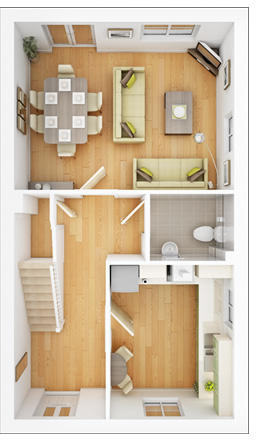 Randwick ground floor plan