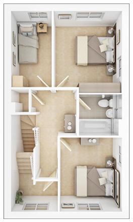 Randwick first floor plan