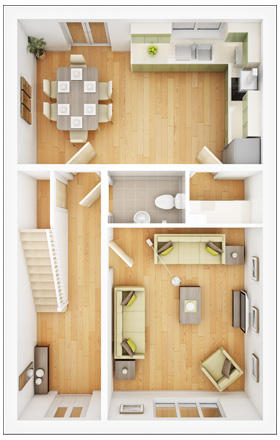 Lismore ground floor plan