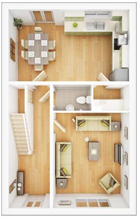 Lismore ground floor plan