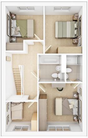 Lismore first floor plan