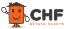 CHF Estate Agents, Magor logo