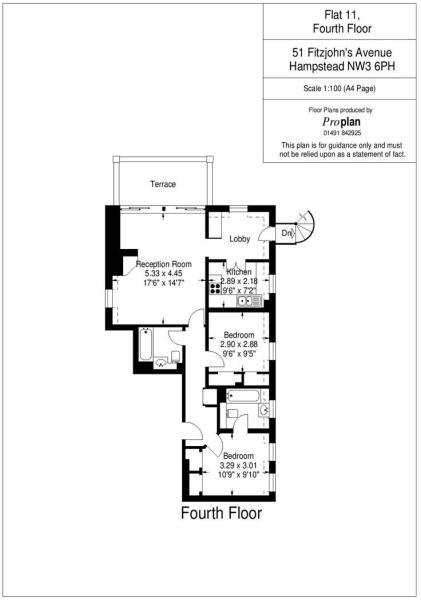 Flat 11 HHFJ floor p