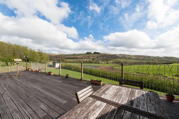 Decking Area And