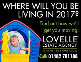 Get brand editions for Lovelle Estate Agency, Hull