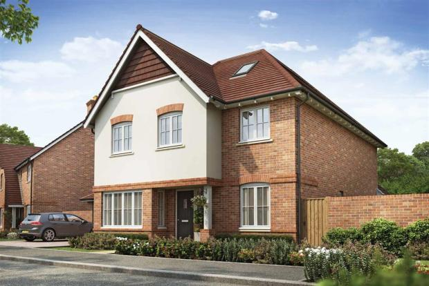 Artists impression of a typical Camberley home