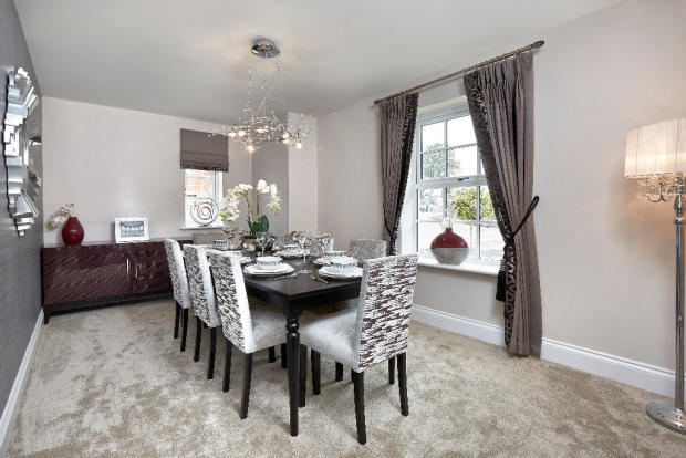Showhome-dining room