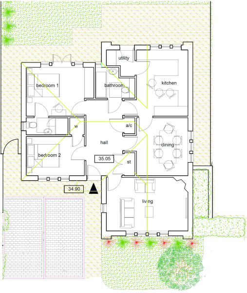 Floor and Site Plan