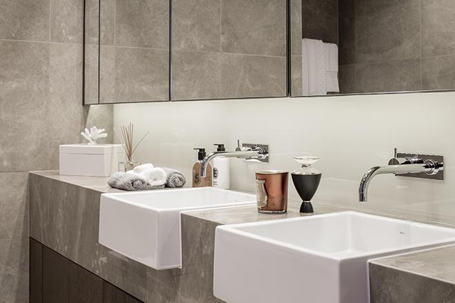 Sir Terry Farrell,Bathroom detail