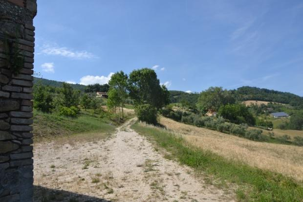 Road to the property