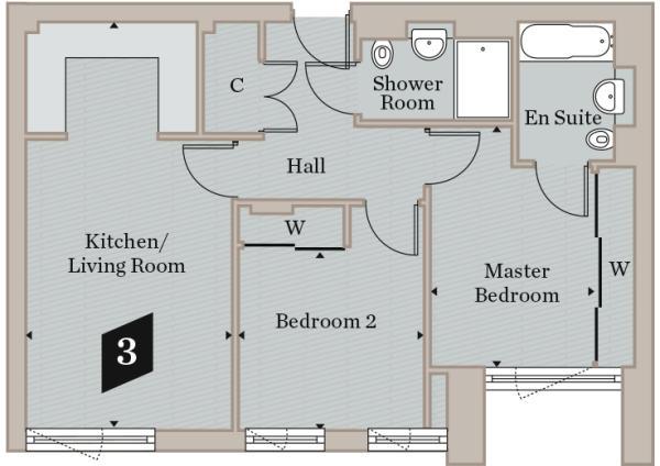 Plot 3 - Floorplan