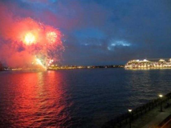 110 Colonnades Fireworks