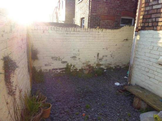 rear yard one