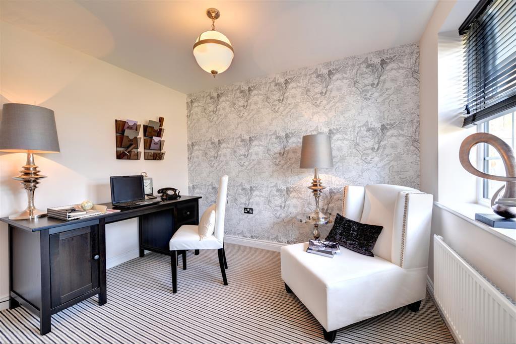 Image shows Sherbourne show home, Castle Vale, Barnard Castle