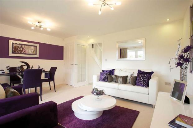3 bedroom semi detached house for sale in off john walker for Living room kilmarnock