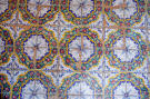 Hand-painted tiles