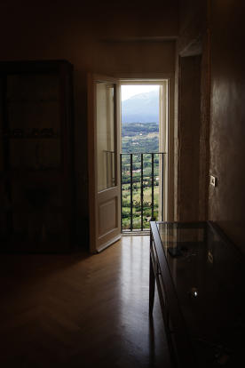 Entry room view