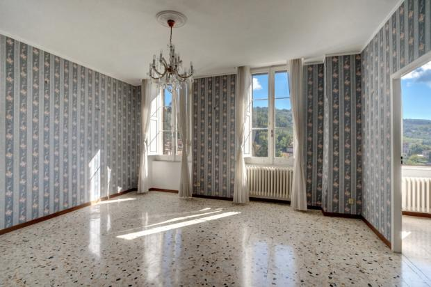 An upper floor room