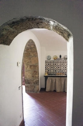 Vaulted stone arches