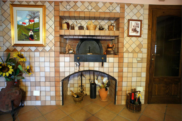 Woodfired bread oven