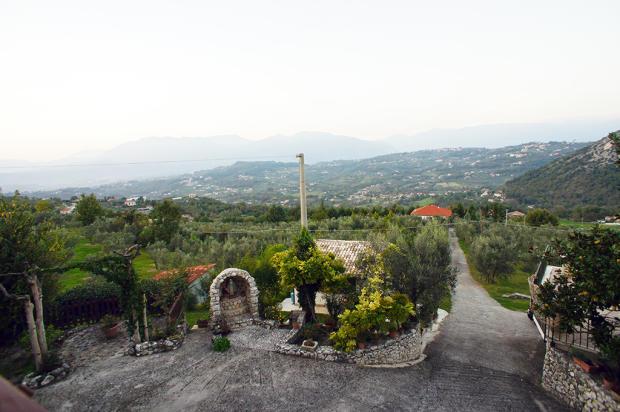 Views to mountains