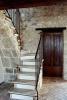 Stairs & front door