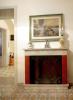 TV room fireplace