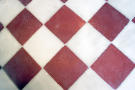 Antique floor tiles