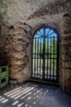 Entrance to cellar