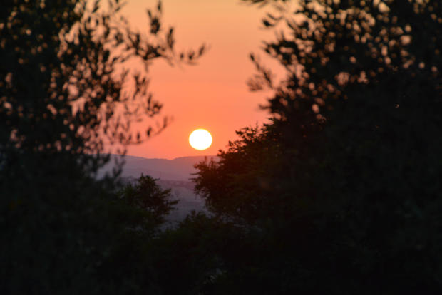 Sunset from Il Pino