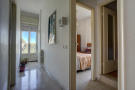 Hotel bed/bathroom