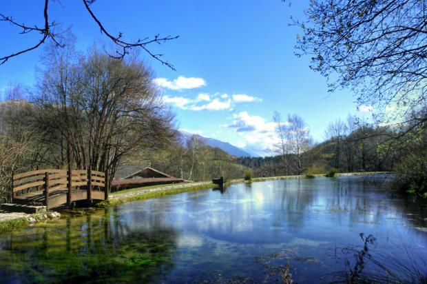 Park - mountain lake