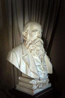 Bust of doctor
