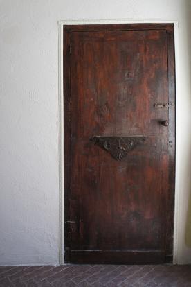 Antique wood doors