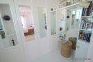 dressing room, bed 1