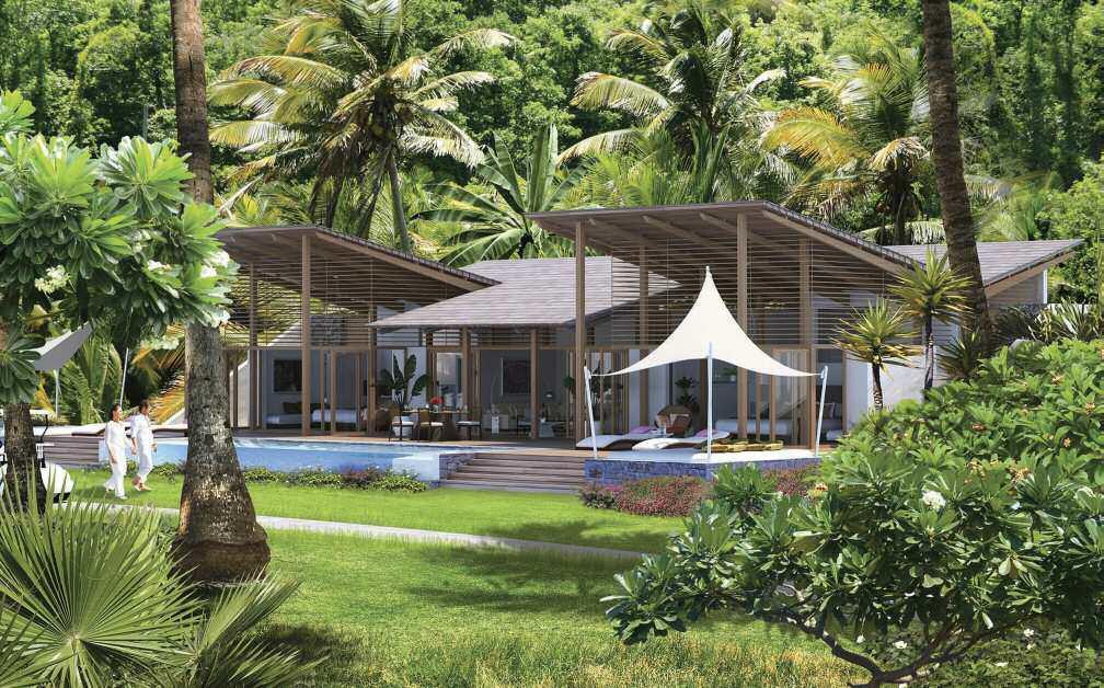 2 bed new development in Soufrière
