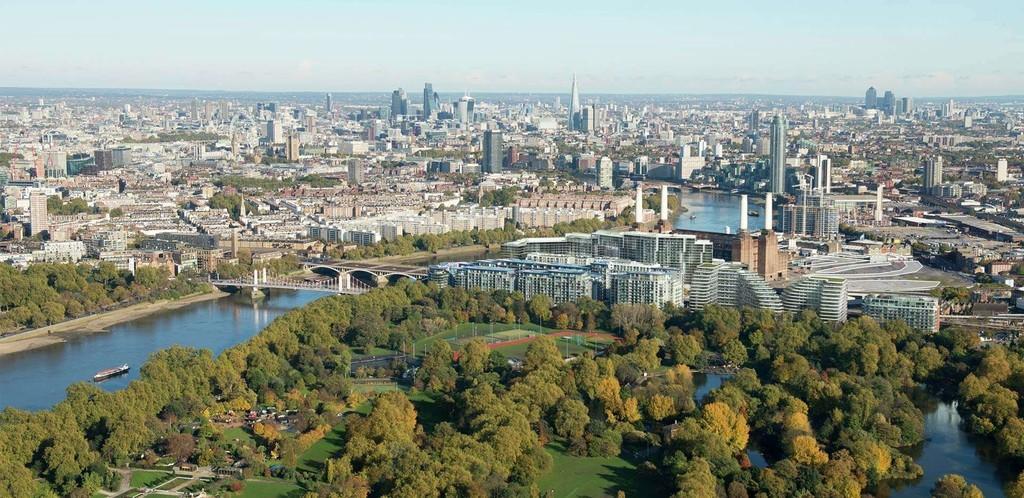 Vista Chelsea Bridge,Aerial