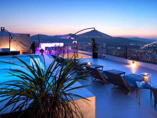 Terrace & view