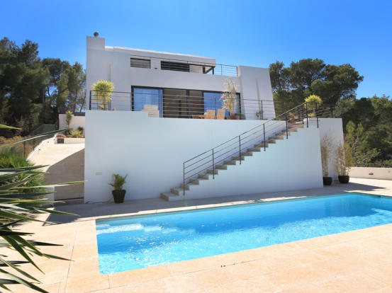 The entire house with pool and terraces