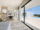 Master bedroom with views to the pool
