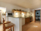 Totally equipped open plan kitchen
