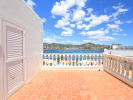 Large upstairs terrace with sea views