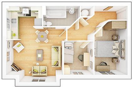 Apartments-Block-1-Apt1-Madrid-gf