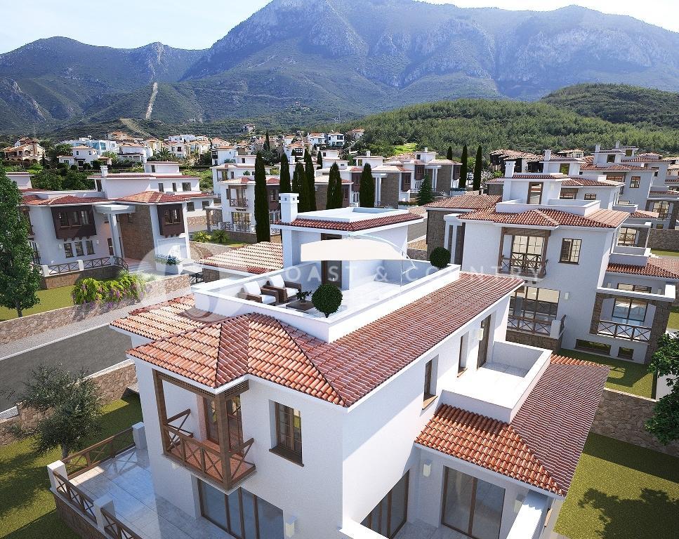 3 bedroom new development for sale in Bellapais, Kyrenia