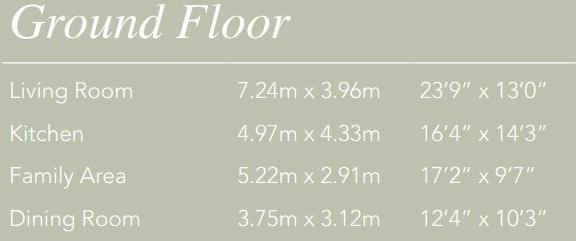 Ground Floor Dims