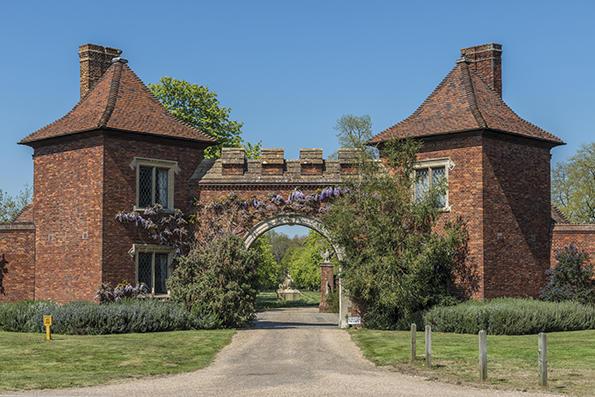 Historic gate houses