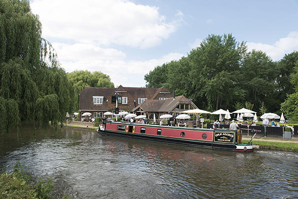 Local river Wey