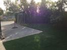side garden/drive